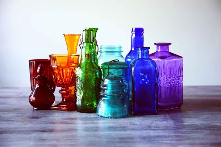 assorted bottles bright clean